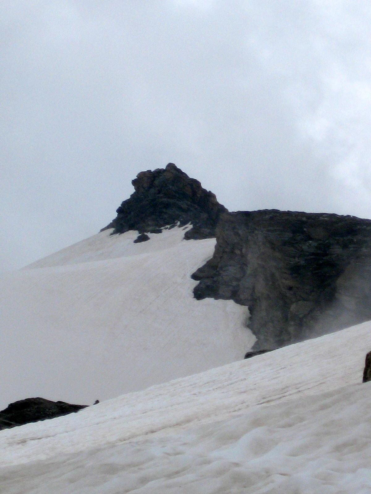 In vista della cima Basei