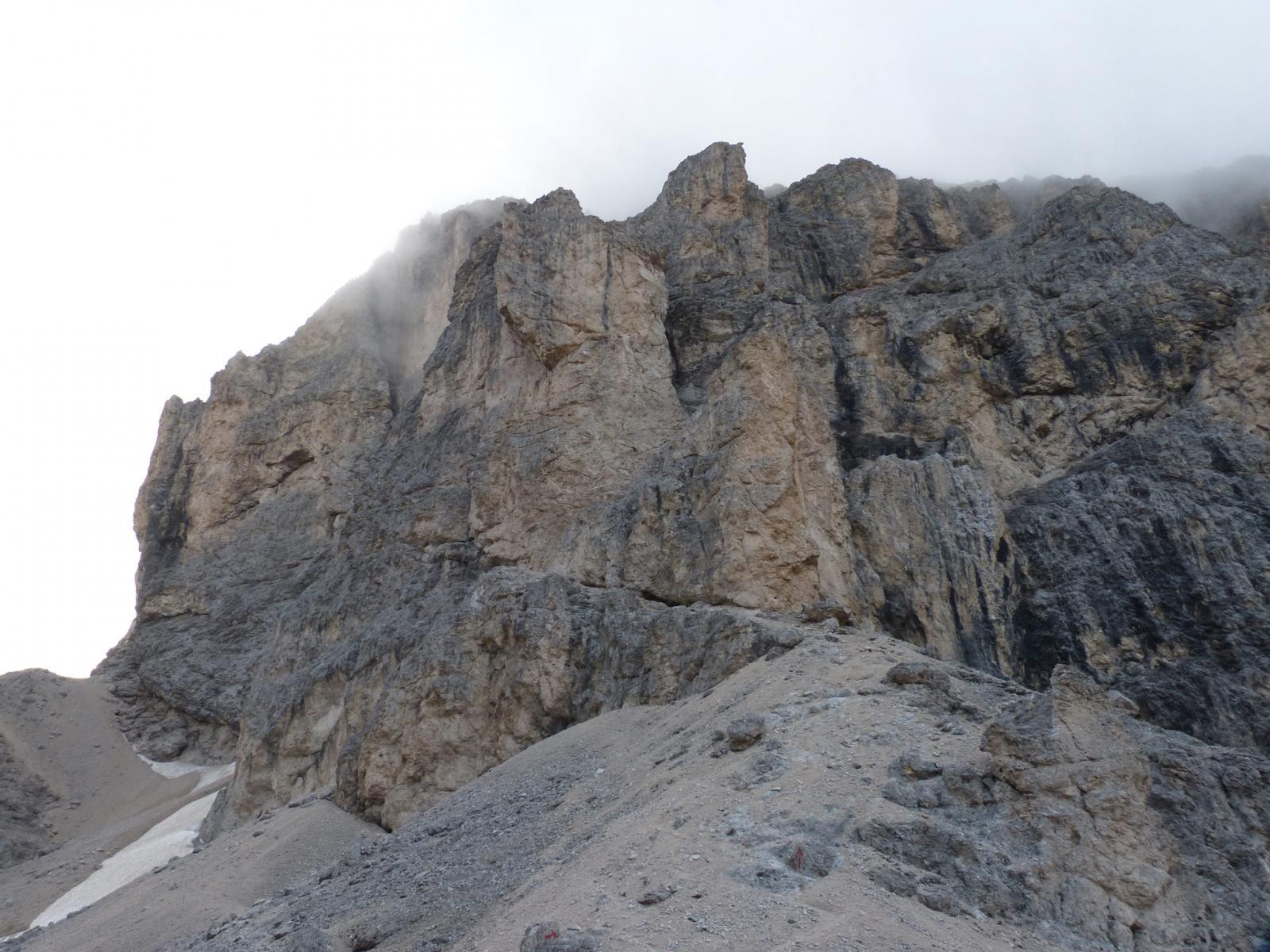 Catinaccio d'Antermoia traversata Ferrata Ovest e Est 2014-08-10