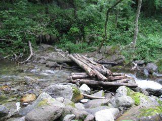 Ponticello sul torrente Gravio al ritorno