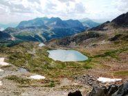 I laghi di terre rouge dalla bassa del drous