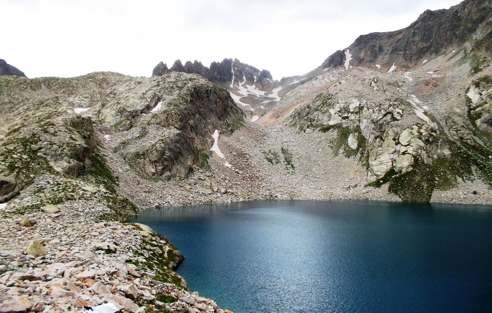 lago delle portette e cresta savoia