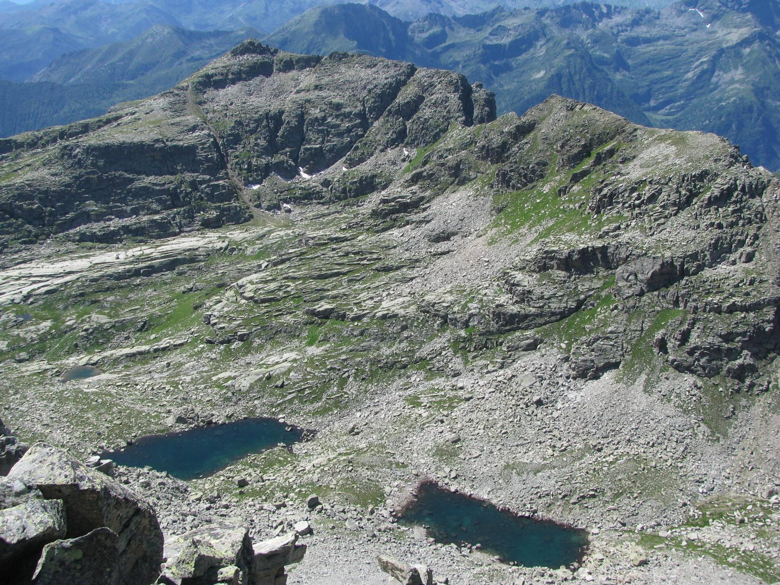 Laghi del Seone e Monte Gran Bernardé