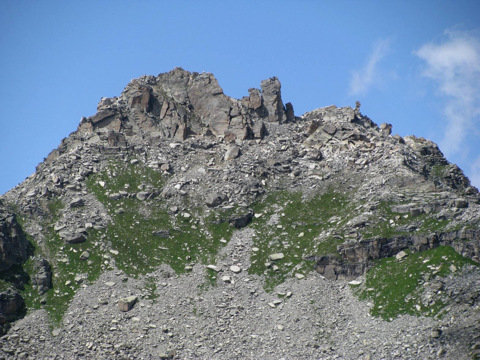 Zoom sul bel Monte Bessun!