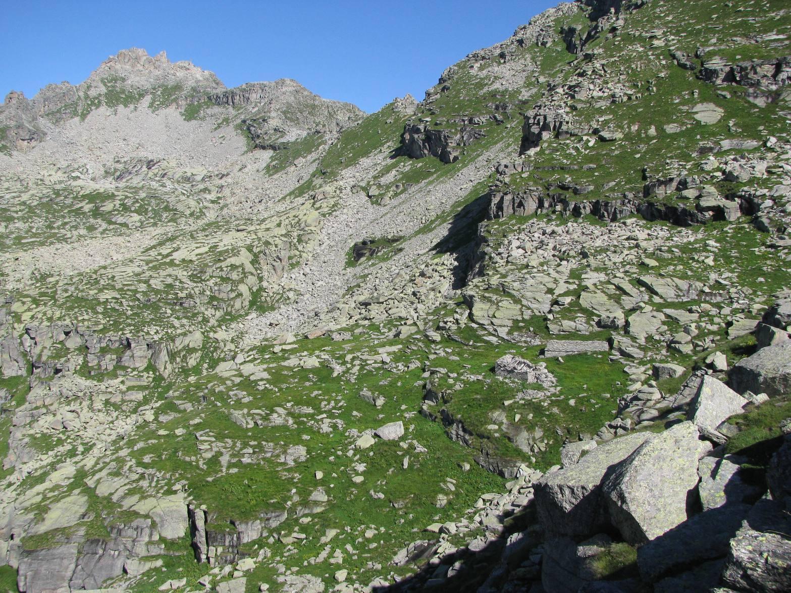 Alpe Paiaire e il Monte Bessun