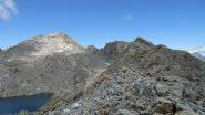 Punta Gialin e percorso di salita