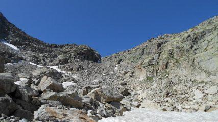 Ultimo tratto per il Passo del Lago Gelato