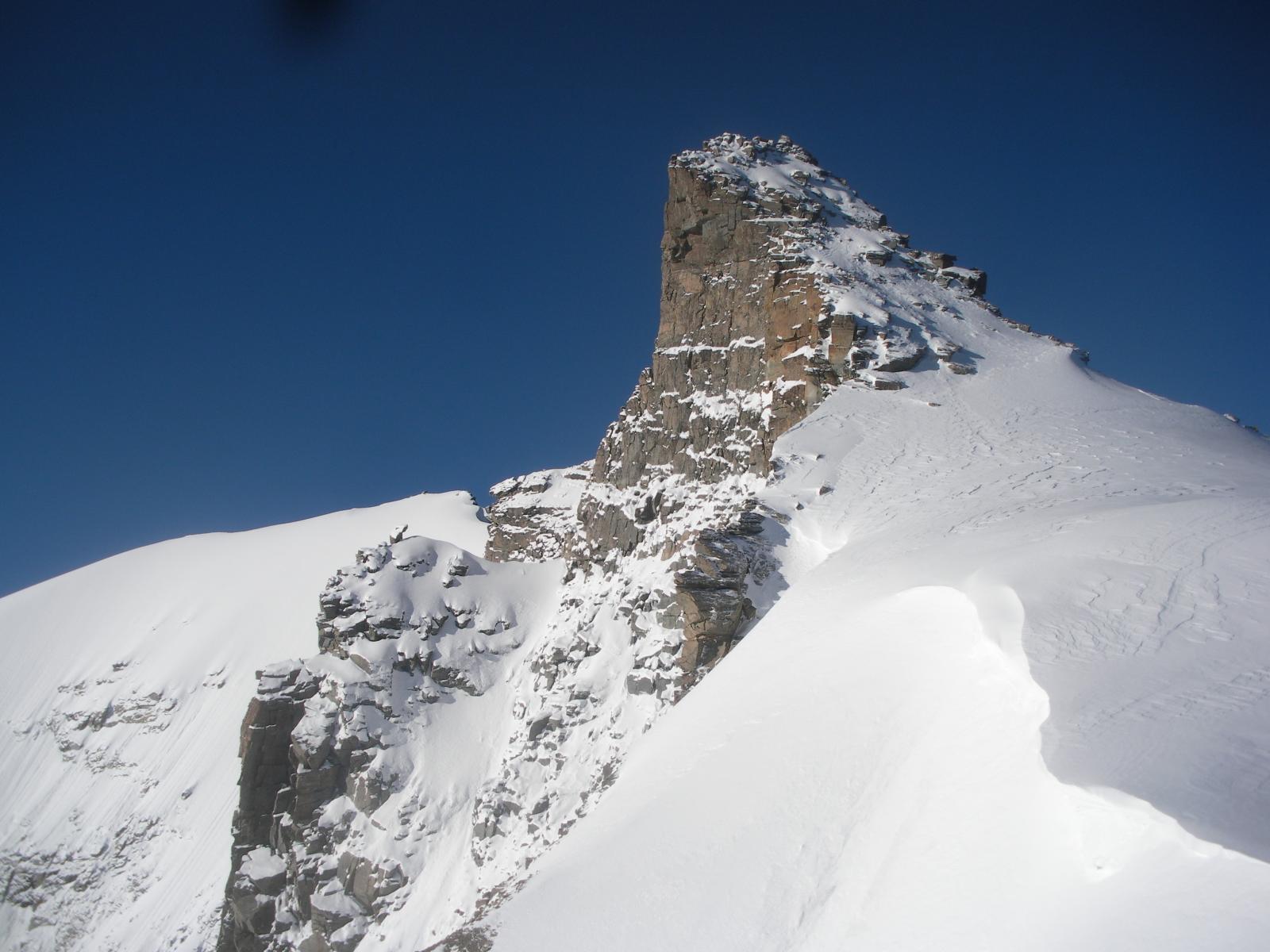 La P.Vaccarone dai pressi del Col di Montandayne'..