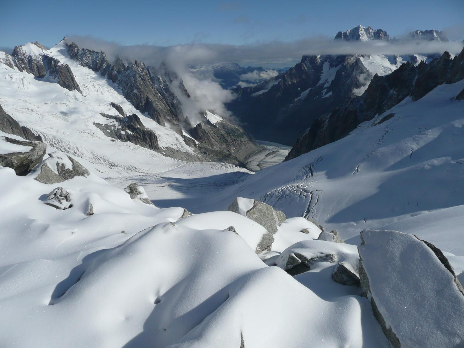 .... e la Vallée Blanche