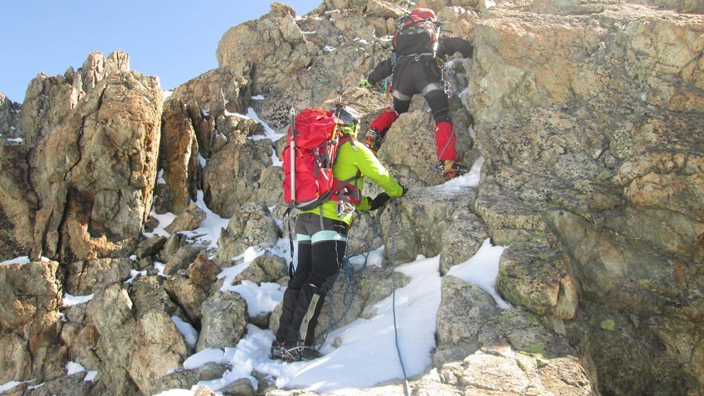 Luca e Siria attaccano la cresta in conserva