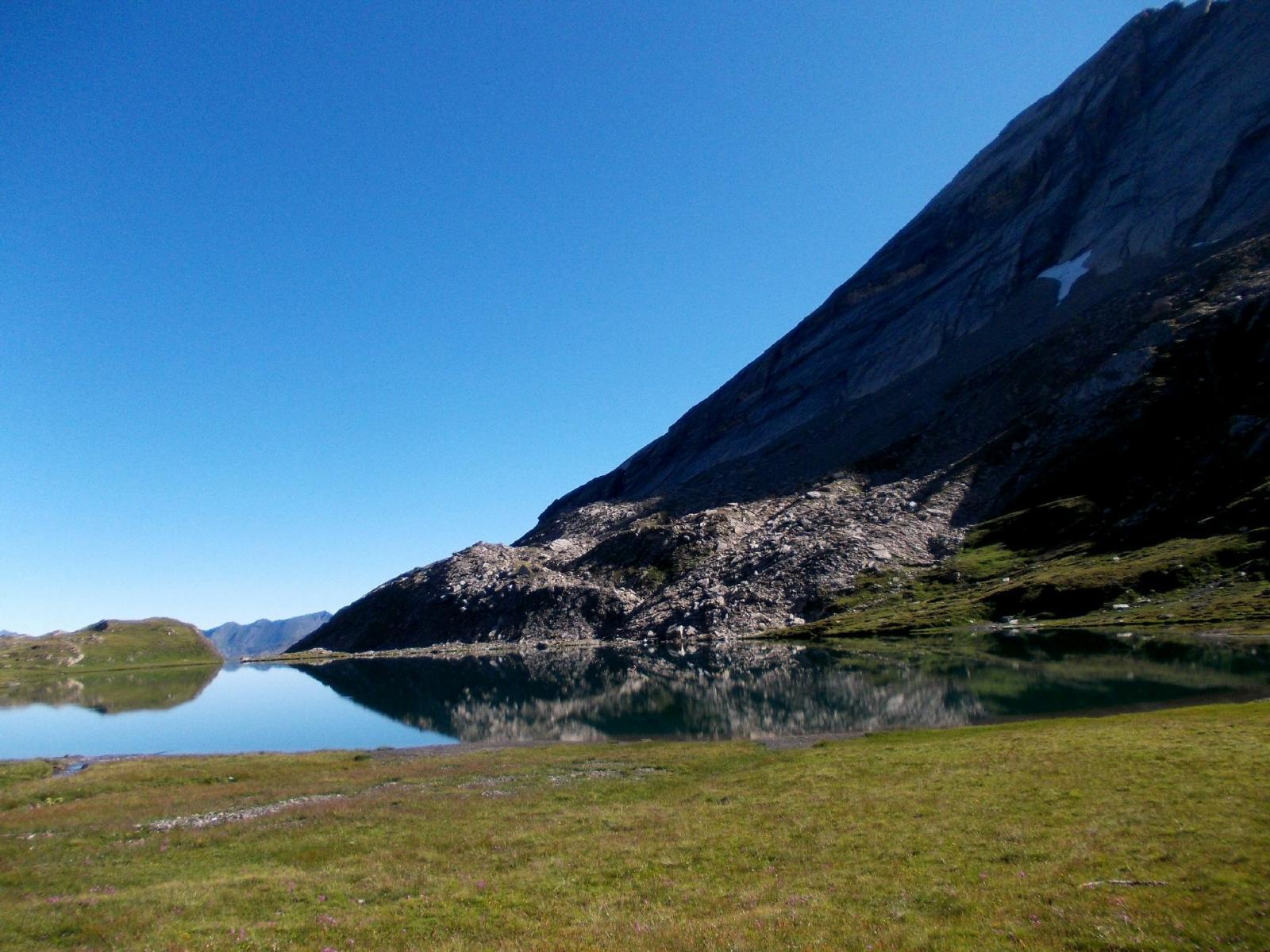 Lac Foreant  e cresta di salita