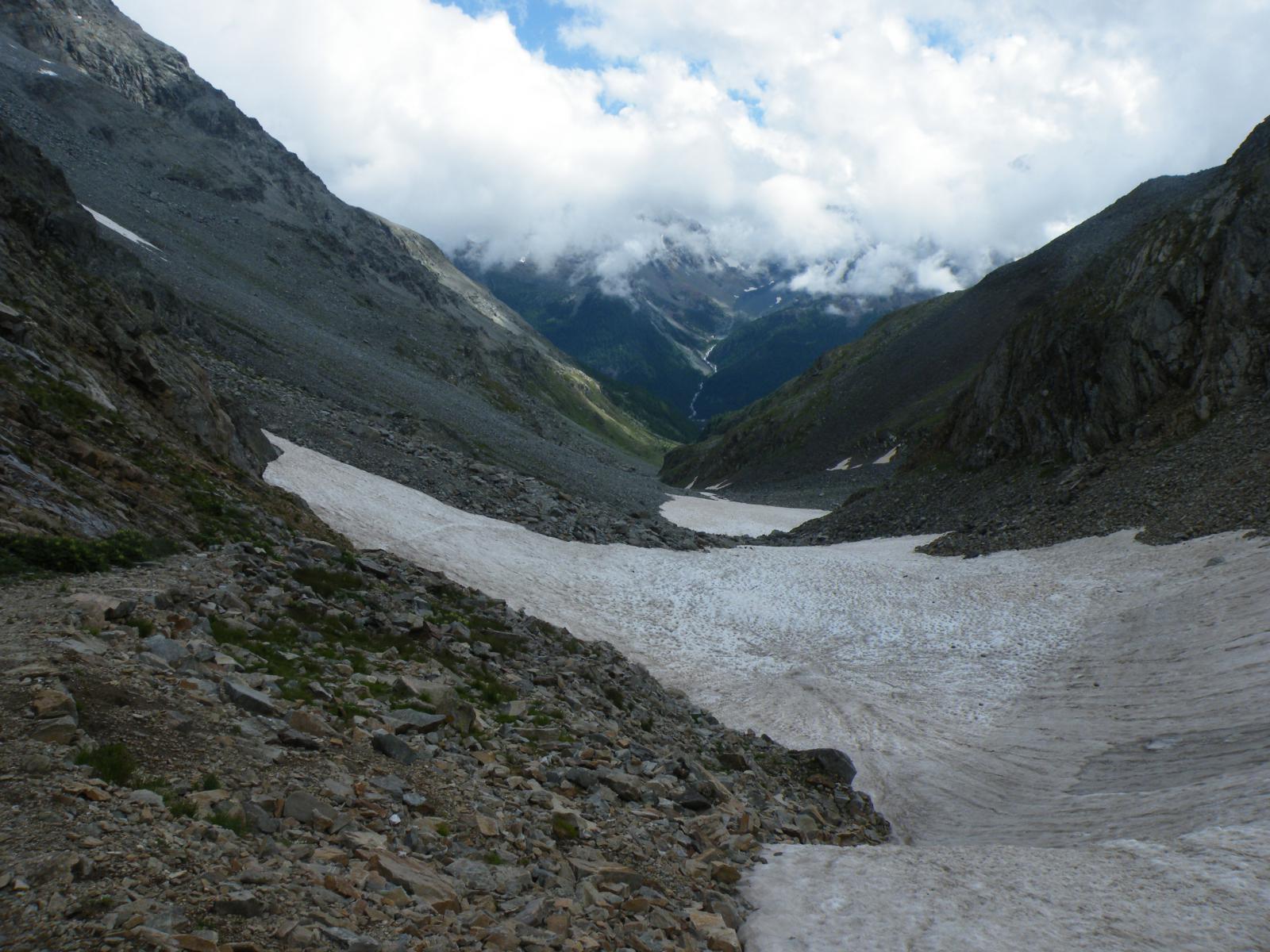 la valle di salita