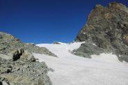 prima parte del percorso sul mansueto ghiacciaio