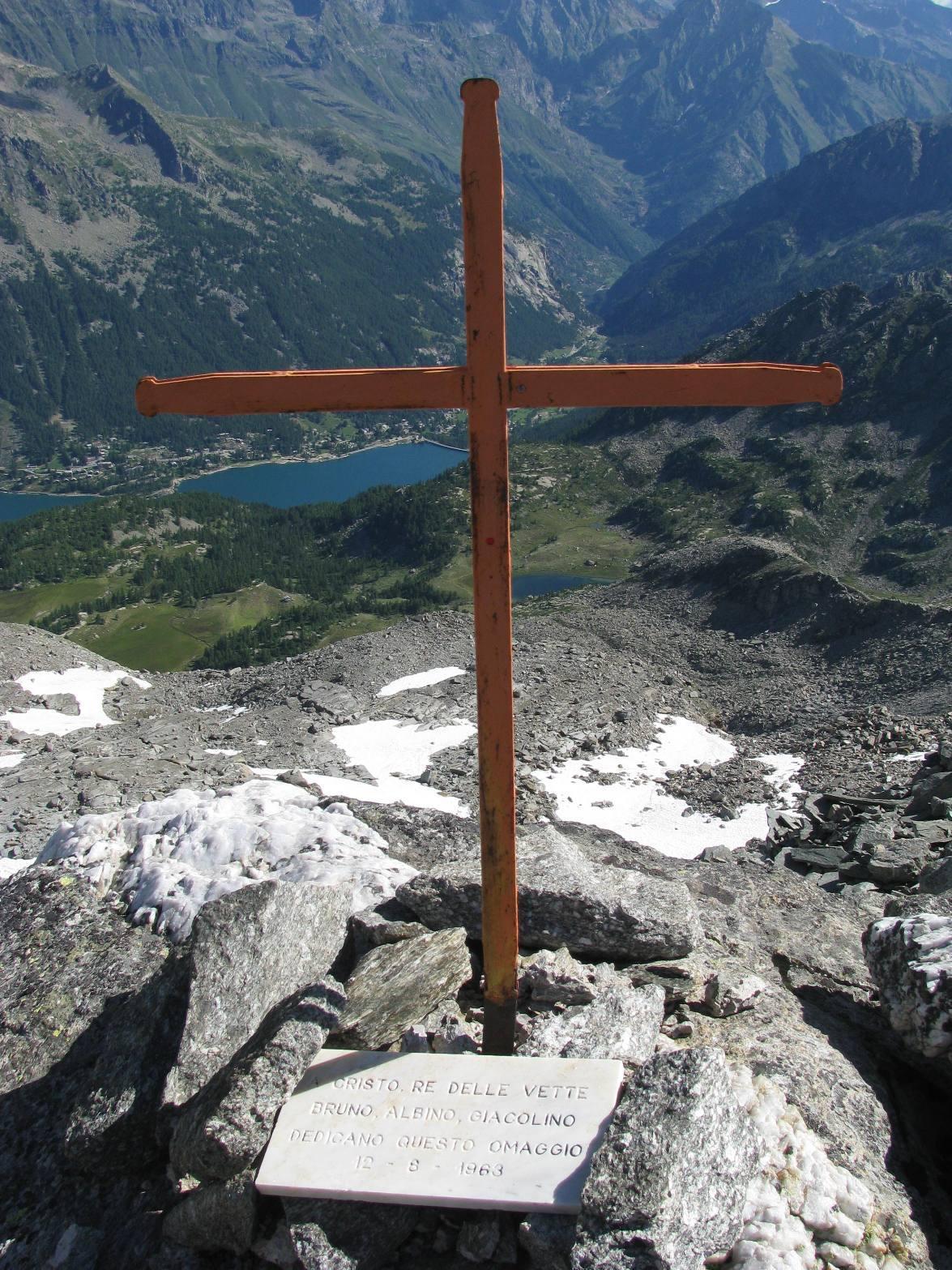 La croce di cresta