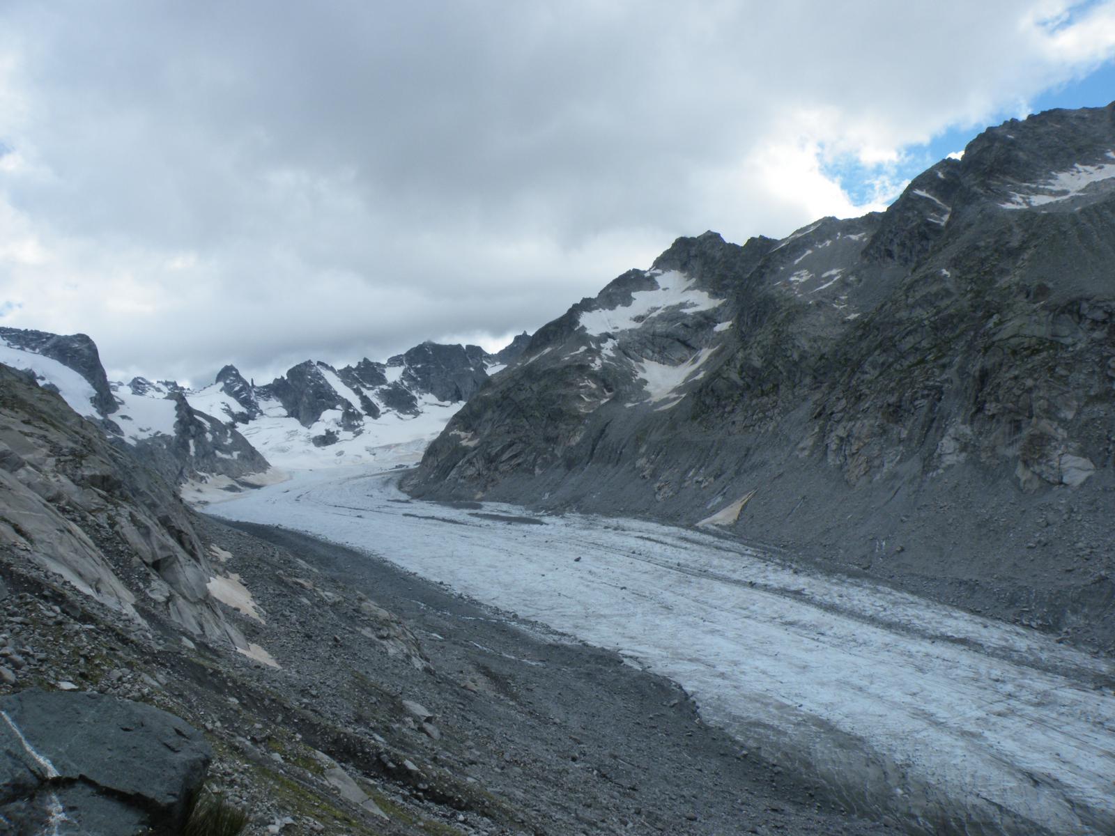 il ghiacciaio del Forno