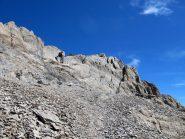 La cima escursionistica