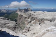 Panorama verso la Val Lasties