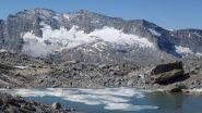 levanne dal laghetto glaciale sotto al colle della fourà