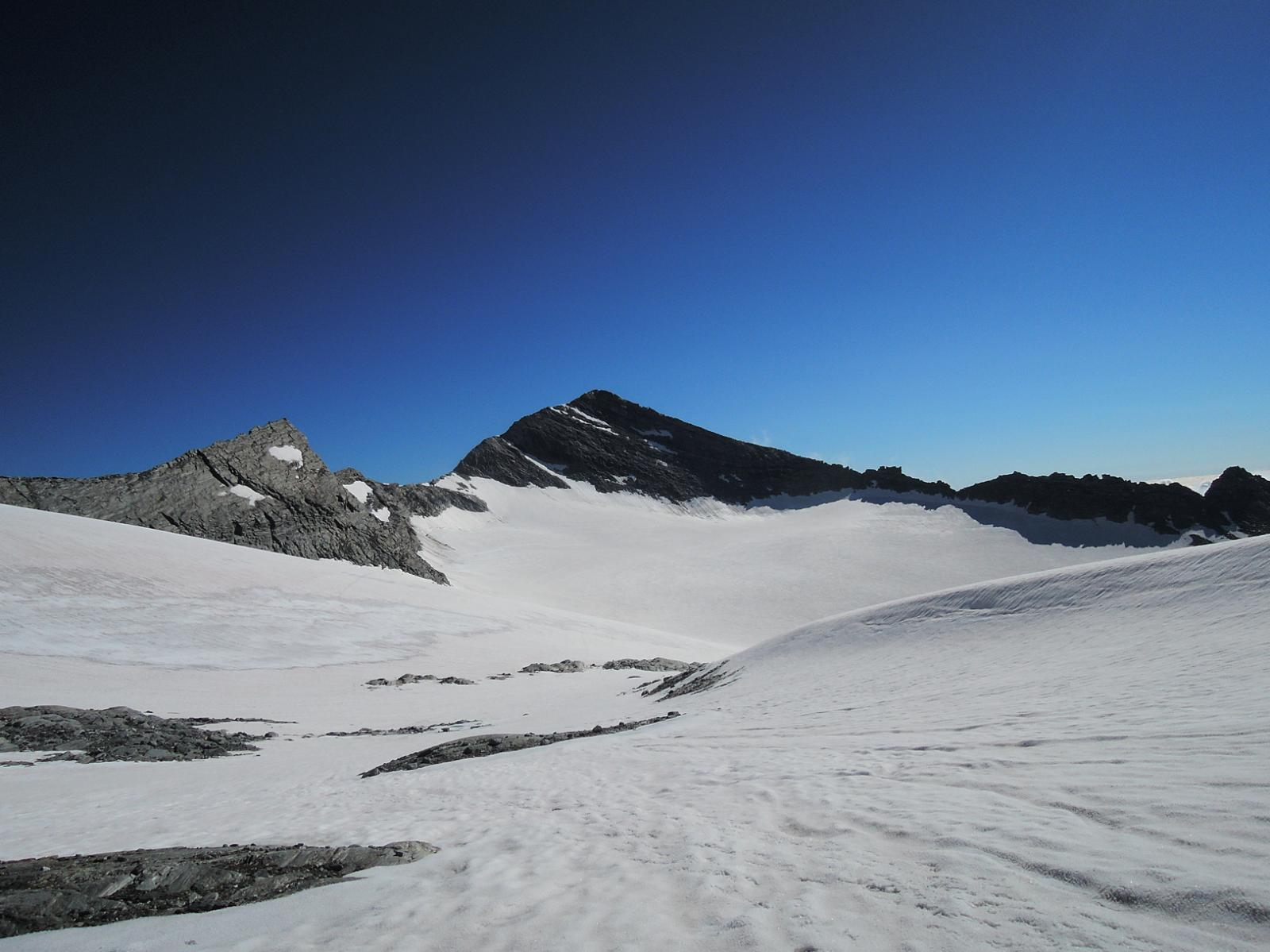 Leone e Alpjergletscher visti dal Breithornpass