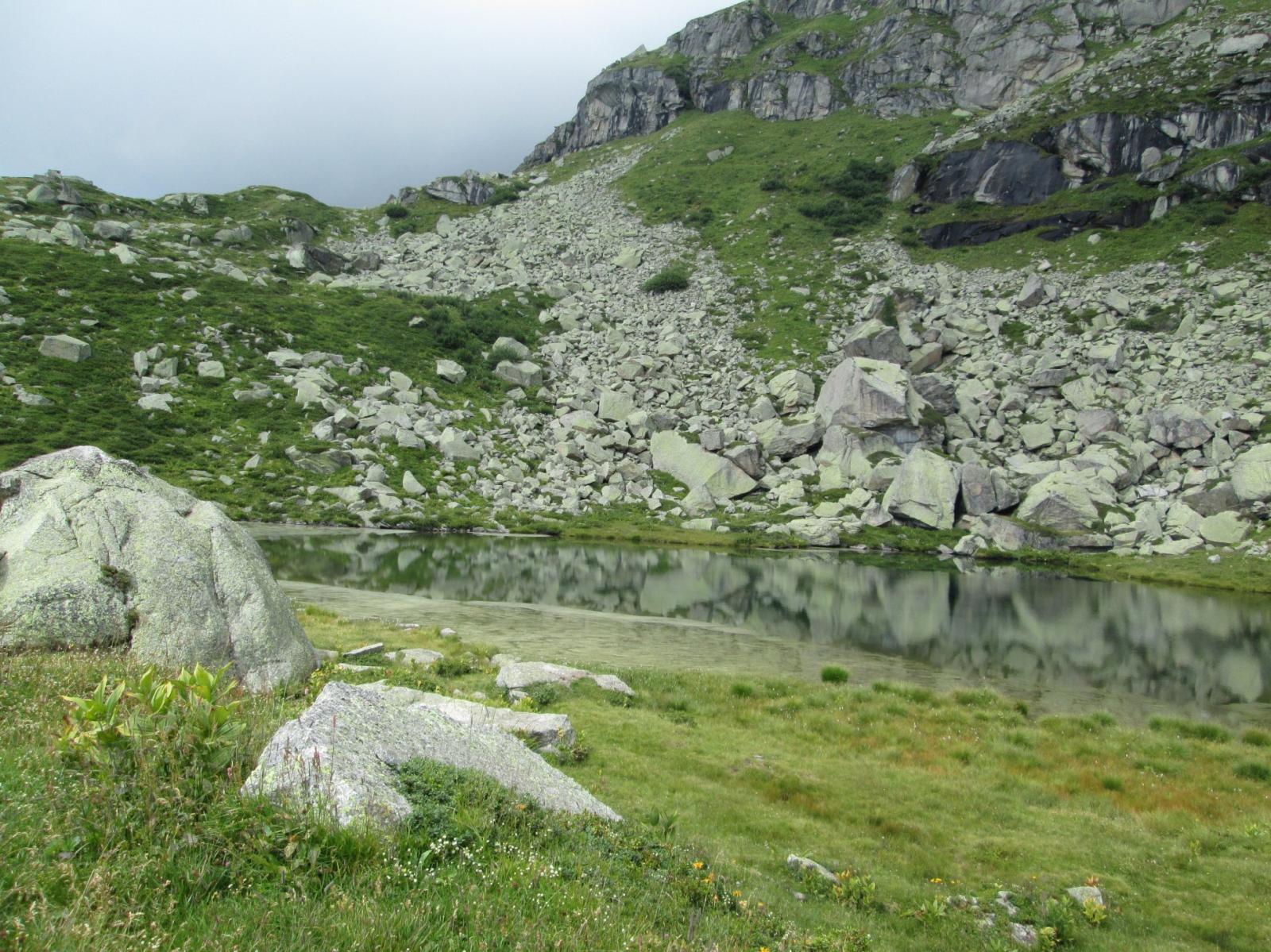 lago piccolo di Sagnasse