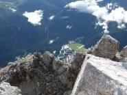 San Martino di Castrozza dalla cima Rosetta