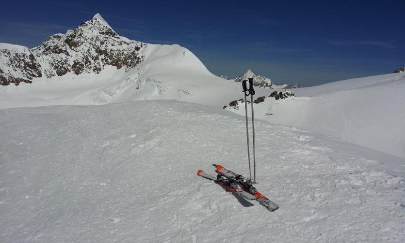 Ad agosto con gli sci !!