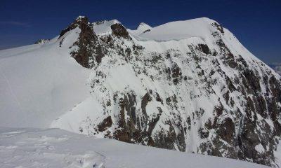 Vista dalla cima verso la Parrot