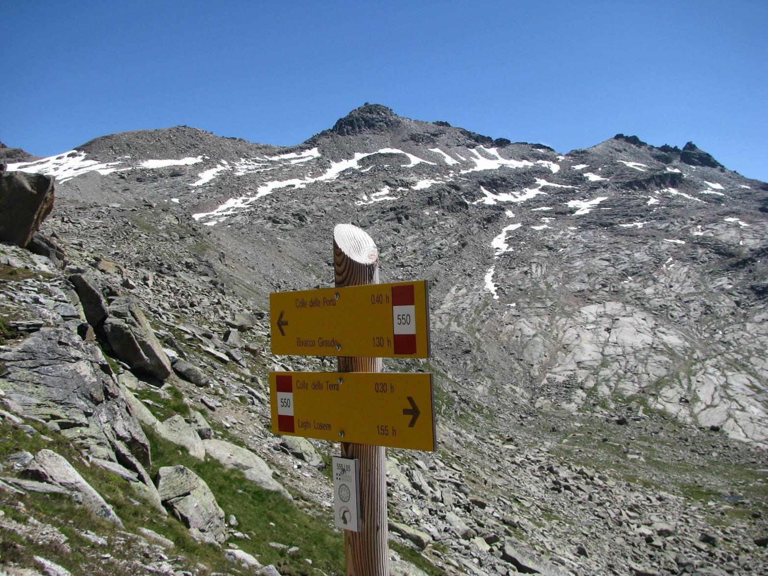 La Cuccagna, dal bivio di discesa all'Alpe del Medico