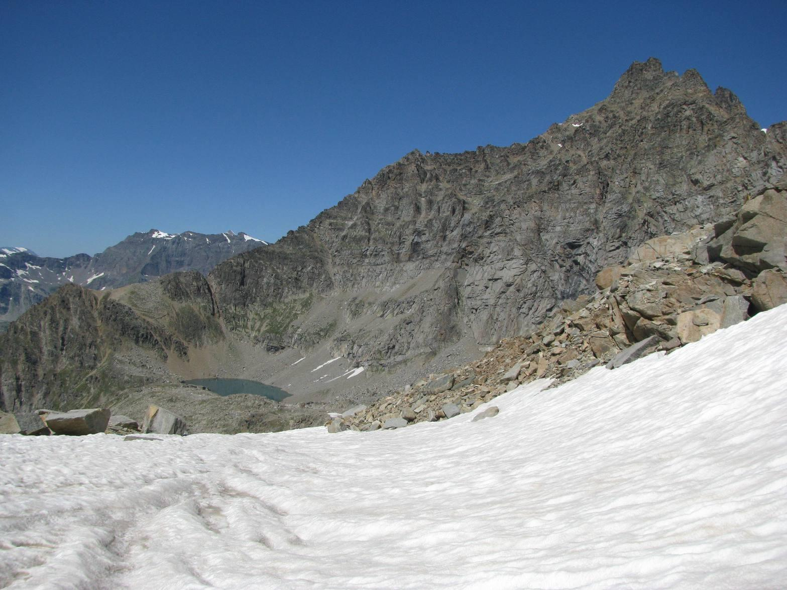 Colle della Terra e Lago Lillet