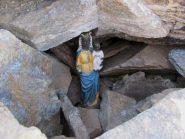 La Madonnina di Oropa in vetta