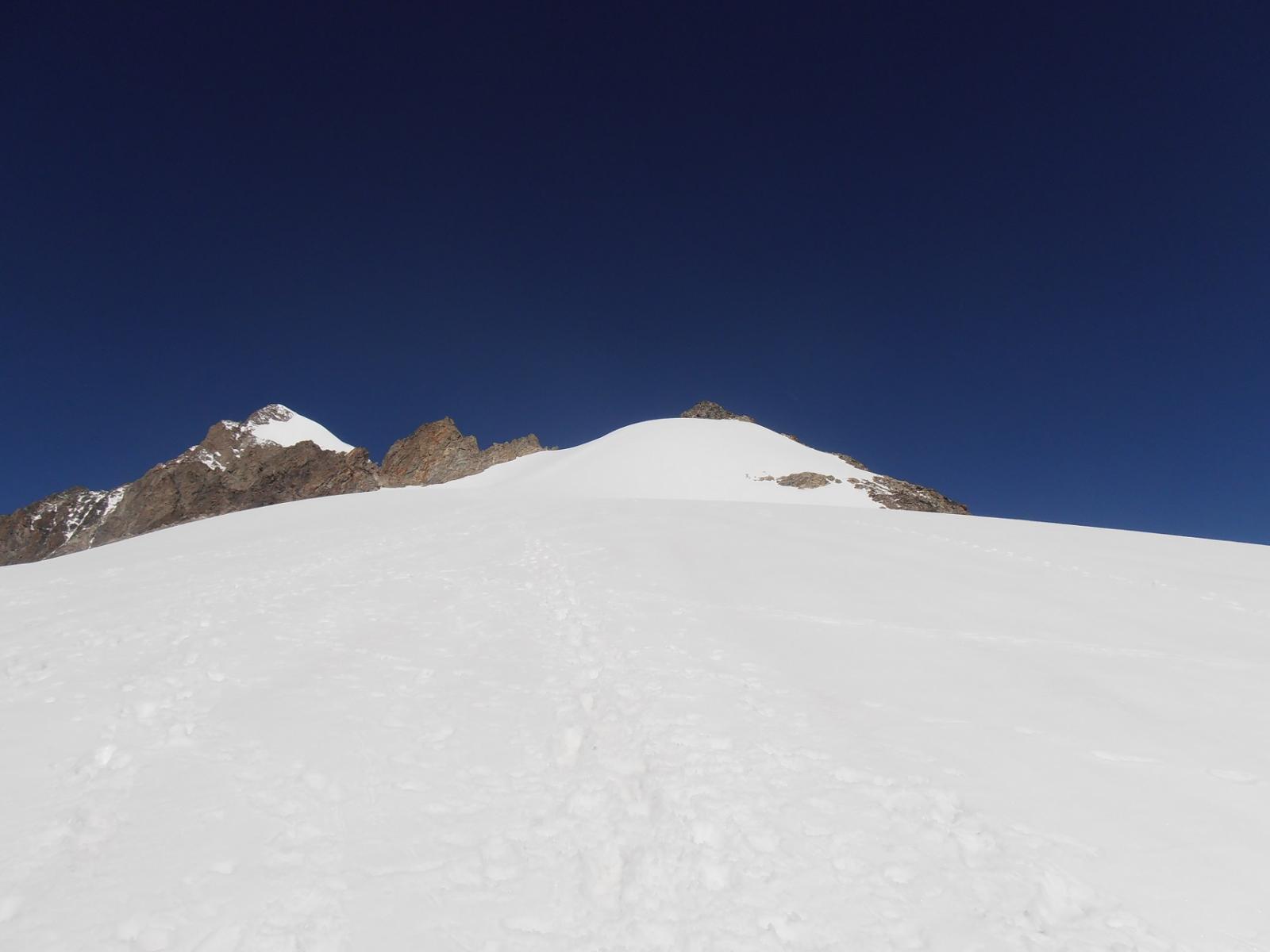 09 - a metà salita sul ghiacciaio