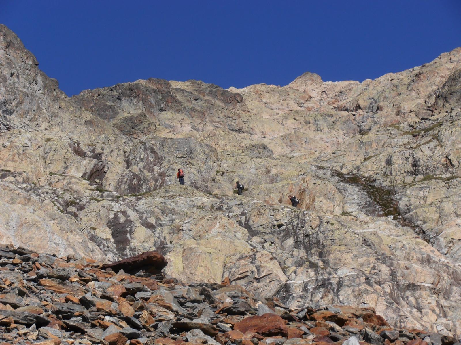 06 - le roccette nella parte alta del vallone