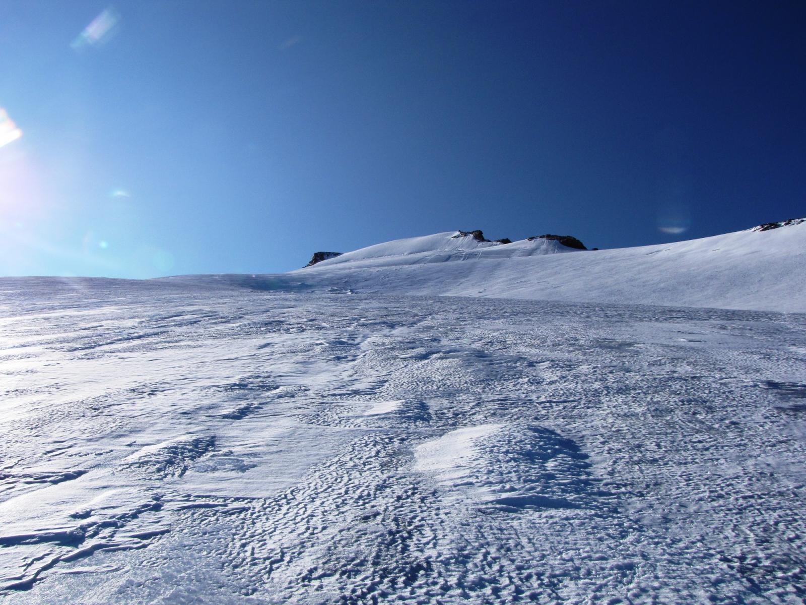 ghiacciaio in ottime condizioni