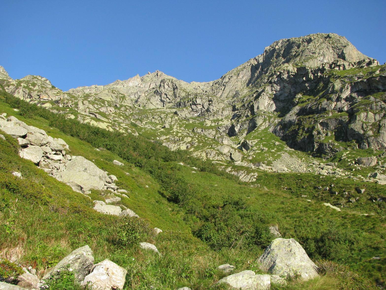 Traverso all'Alpe Fumà di sotto