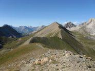 tutta la cresta vista dalla Grand Chalvet