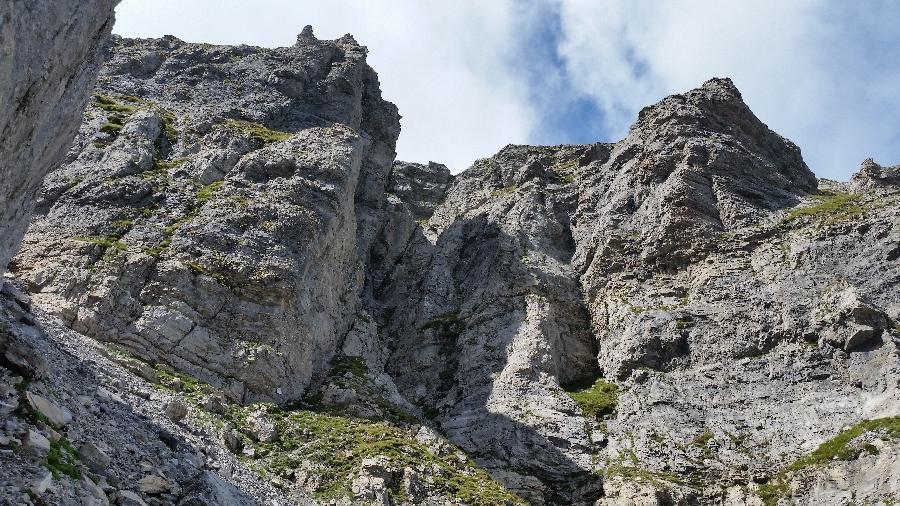 Marguareis (Punta) da Pian delle Gorre per il passo del Duca, Capanna Morgantini, Sentiero Sordella 2014-08-21