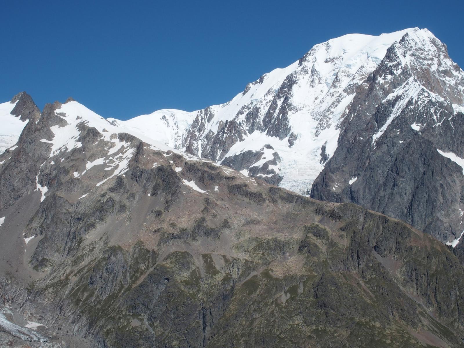 Petit Mont Blanc et Mont Blanc!