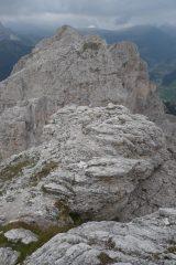 Piccolo Piz da Cir dalla cima