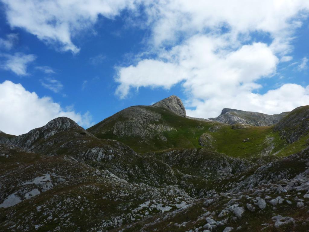 Castello delle Aquile e Marguareis dal Passo Scarasson