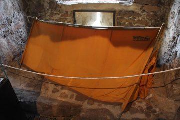 Tenda utilizzata da Bonatti sul K2