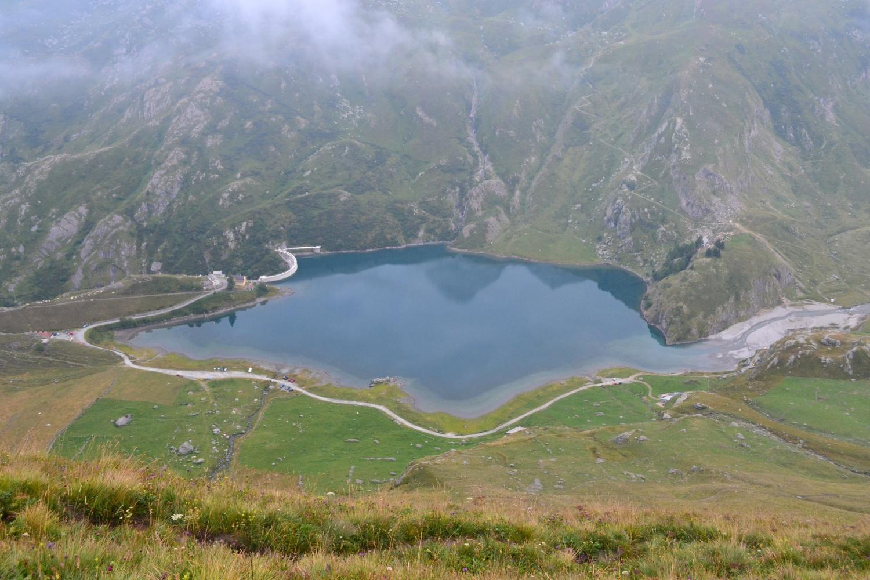 Lago di Malciaussia salendo a Pian Sulè