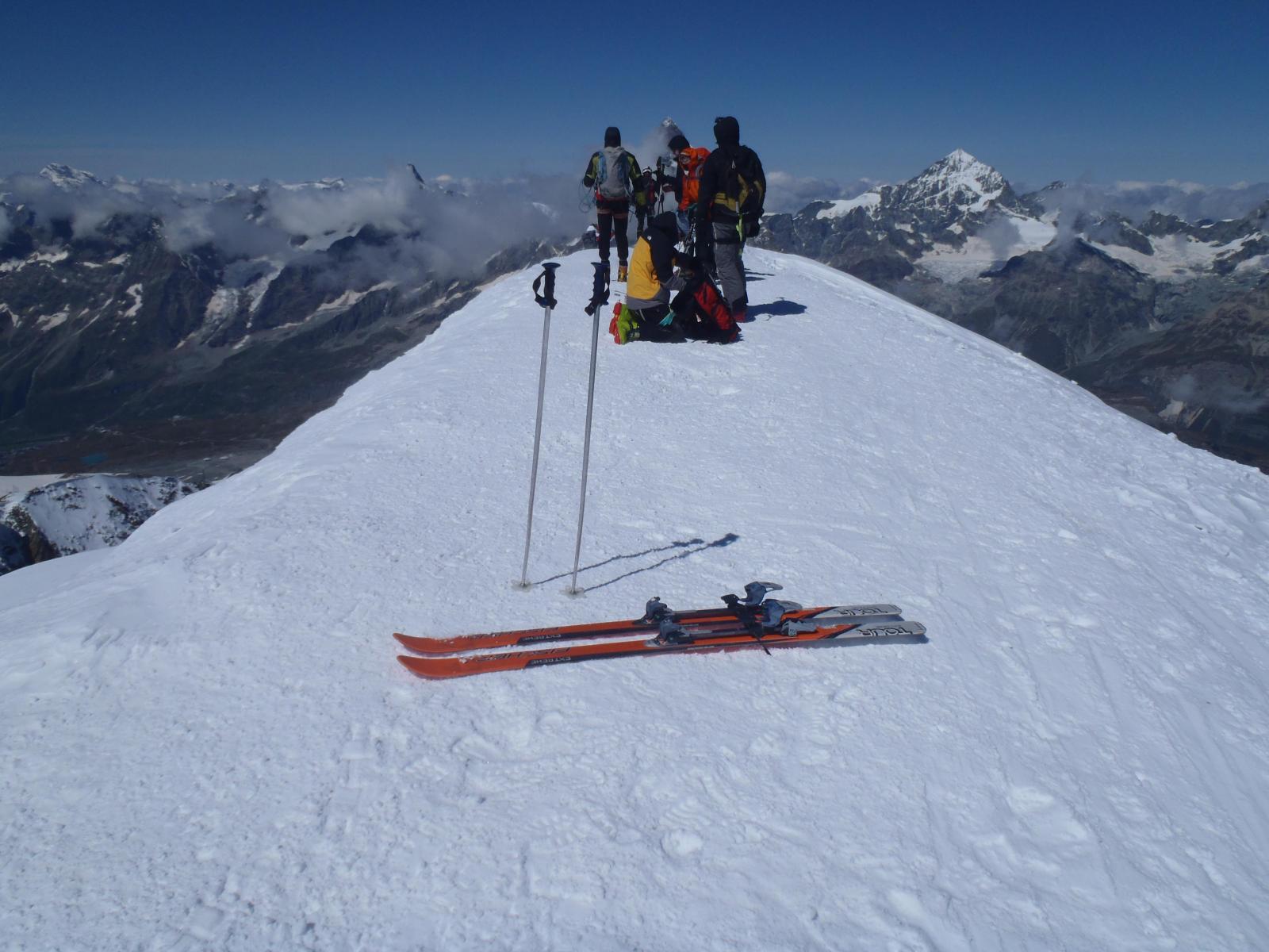 24 agosto con gli sci nuovo record