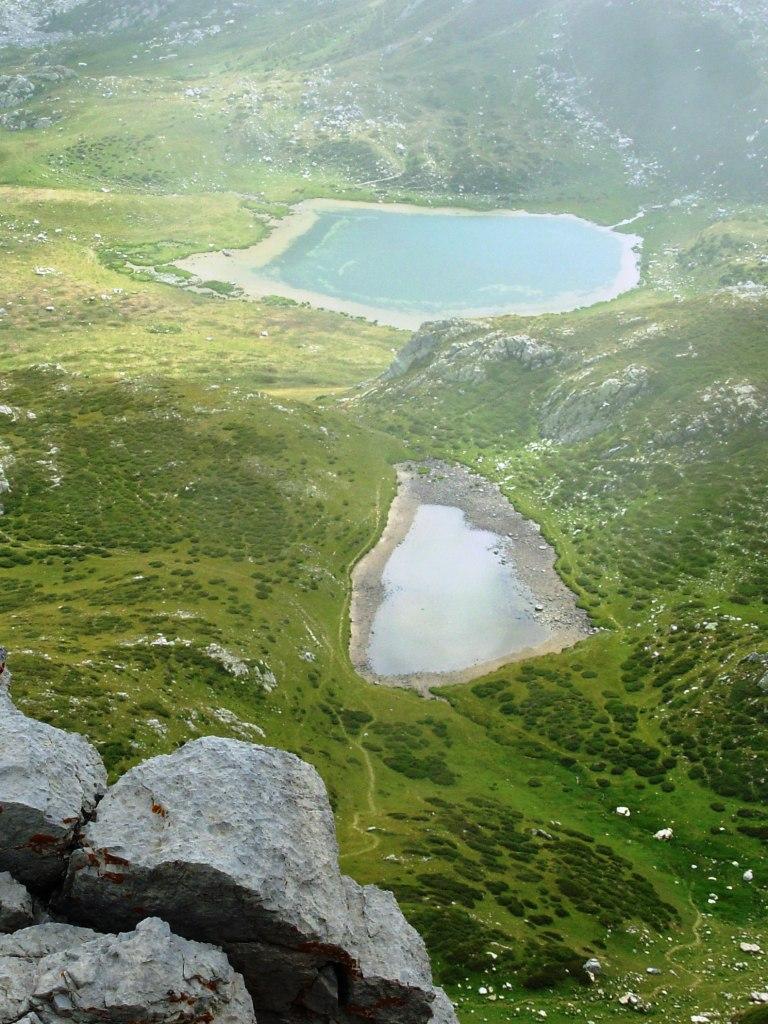 laghi raschera dalla cimna della brignola