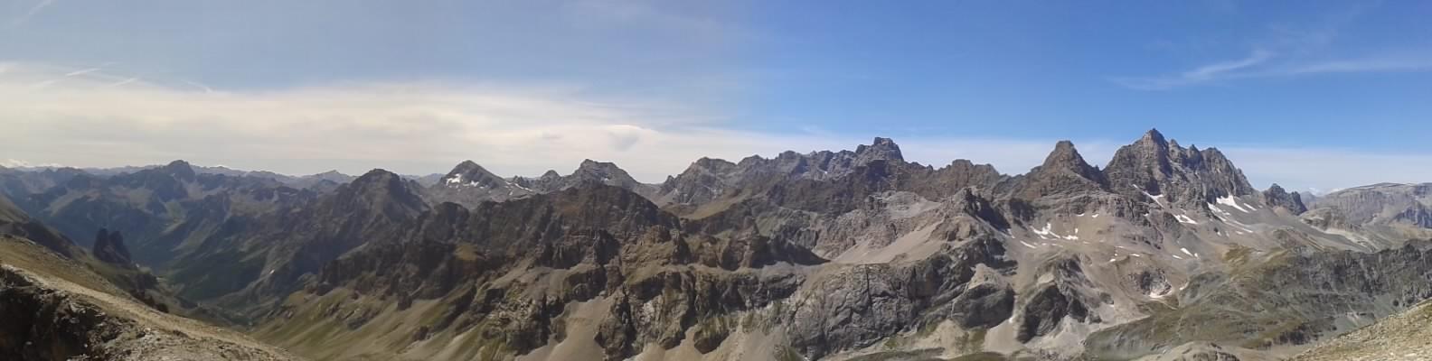Panoramica dalla vetta verso Ovest