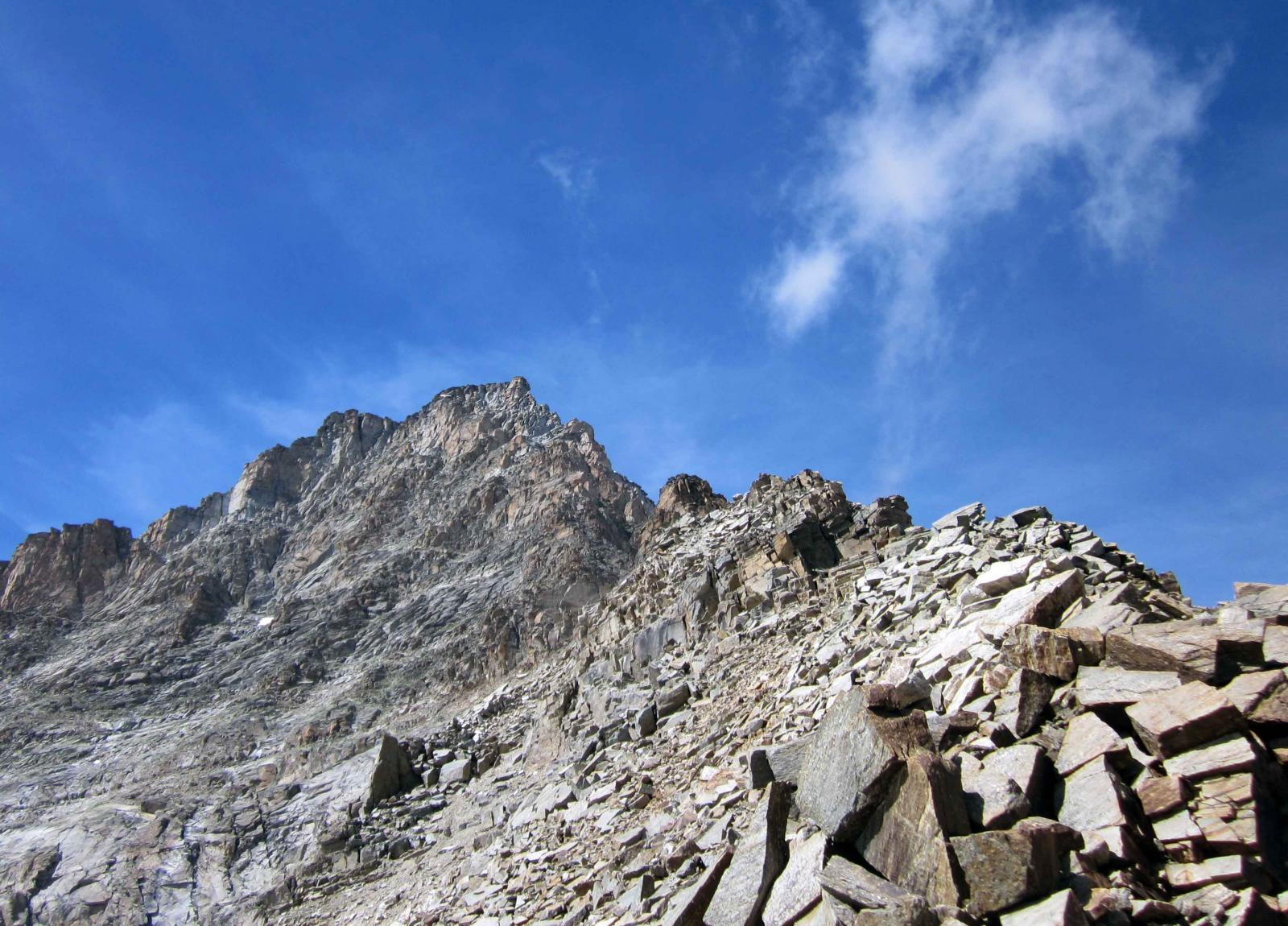 la cresta vista dal colle della torre
