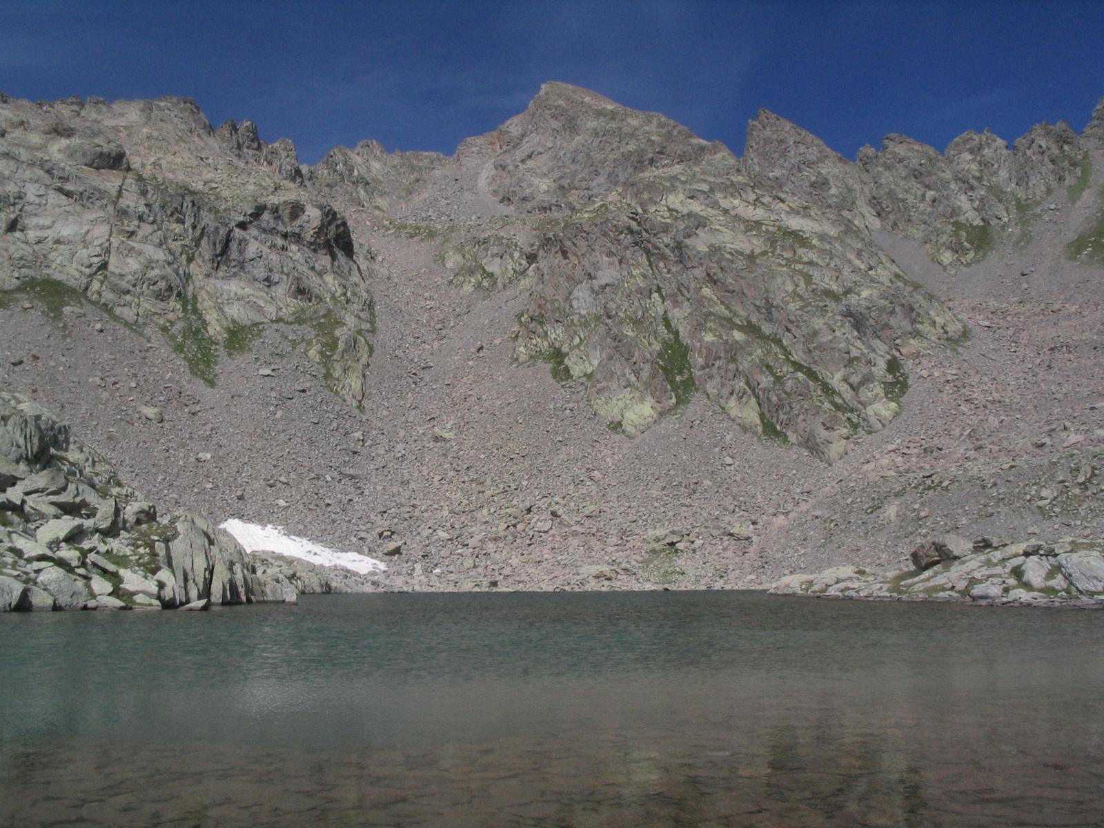 Acqua limpidissima del laghetto