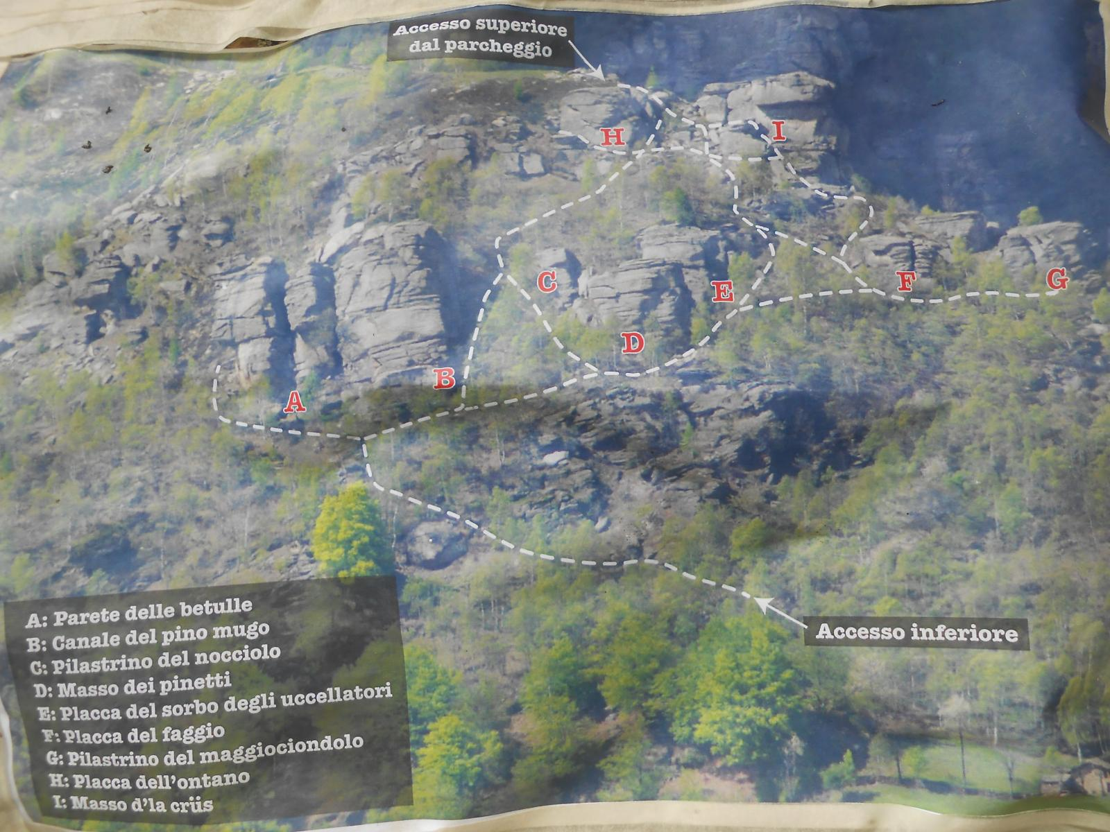mappa settori