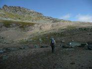 Plateau prima di attaccare la cresta