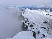 Parecchia neve sul percorso