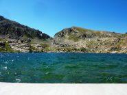 vista dallo sbarramento del lago de la Muta