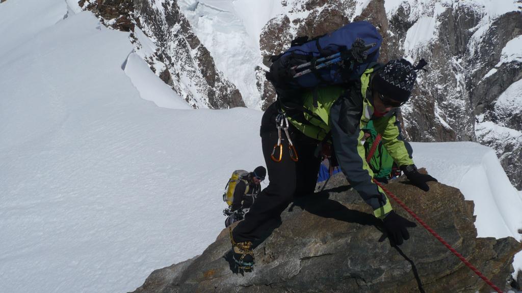 Breve e facile arrampicata